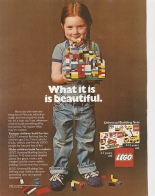 Lego's Ad from the 1980's