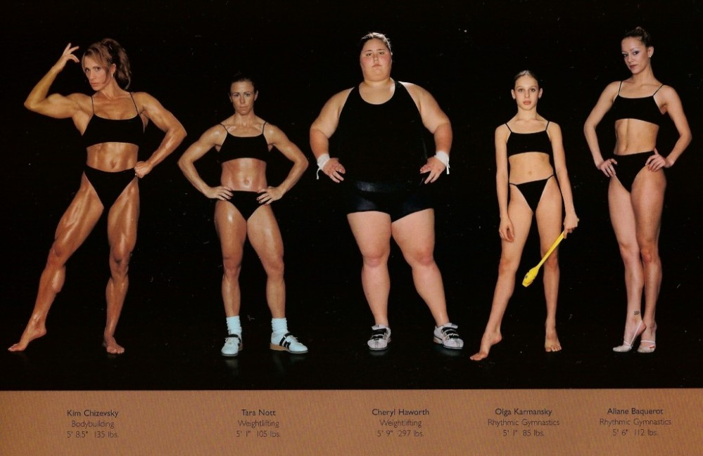 The Perfect Body, as Illustrated by Olympic Athletes » Sociological Images (1/2)