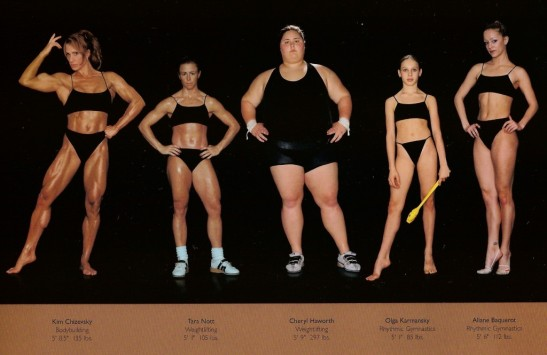 Female Olympic athletes