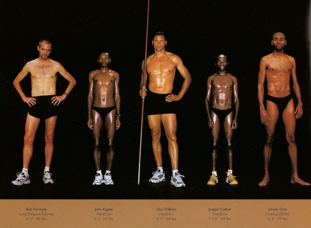 The Perfect Body, as Illustrated by Olympic Athletes » Sociological Images (2/2)
