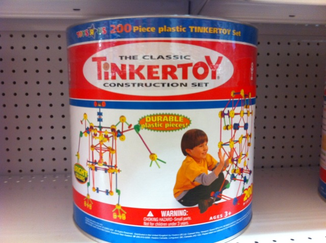 Tinker Toys For Boys : Just a toy no marketing media and childhood
