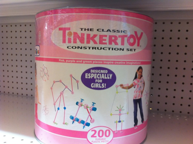 Toys For Girls Product : Pink and blue toy aisles part messages about girls and boys