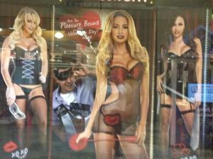 spensers window display
