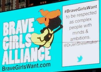 Brave Girls Alliance Take Back the Media Campaign